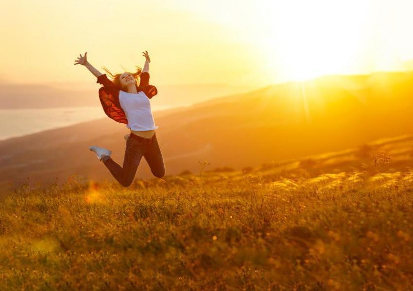 La gioia di vivere vince ogni tristezza