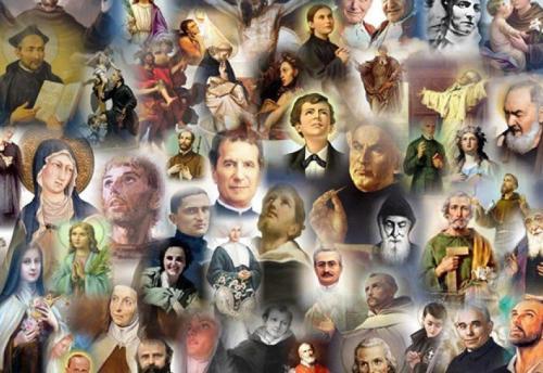 santi sulla terra