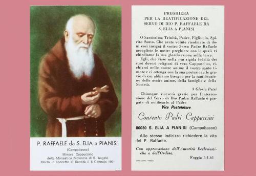 Padre Pio e il venerabile Raffaele da Sant'Elia a Pianisi