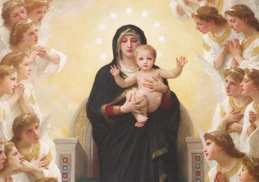 Chi non è devoto di Maria non lo è nemmeno degli angeli
