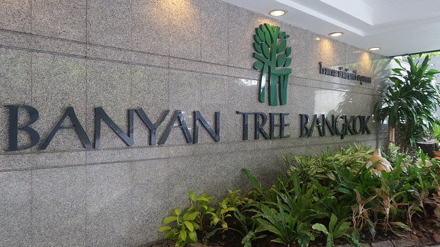 Our family stay in Banyan Tree Bangkok