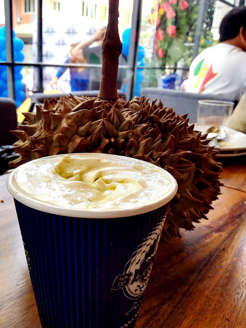 Blugre must-try durian coffee of Davao is now in Manila!