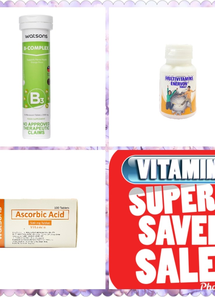 Watsons holds Vitamin Super Saver Sale on April 30 to May 2