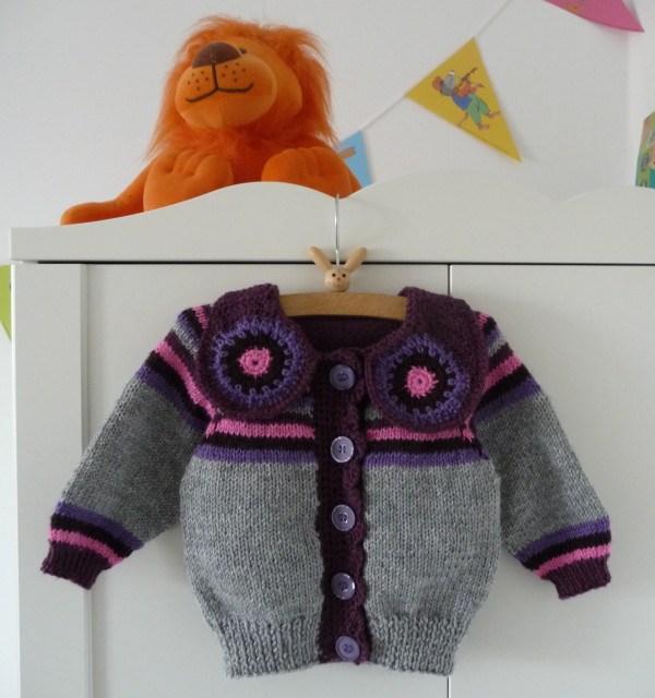 Noa Cardigan children knitwear Anna Maltz