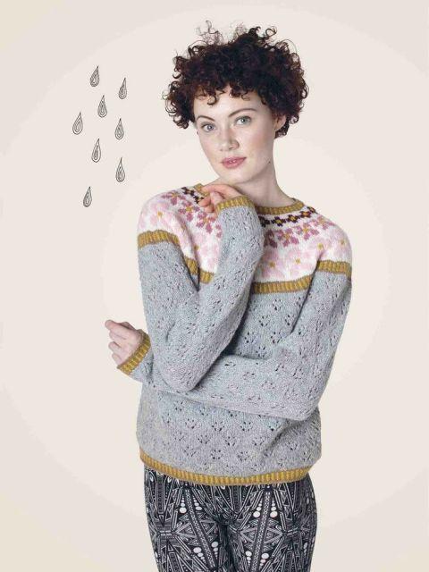 Sólja (w/ raindrops) pompom Anna Maltz knitwear