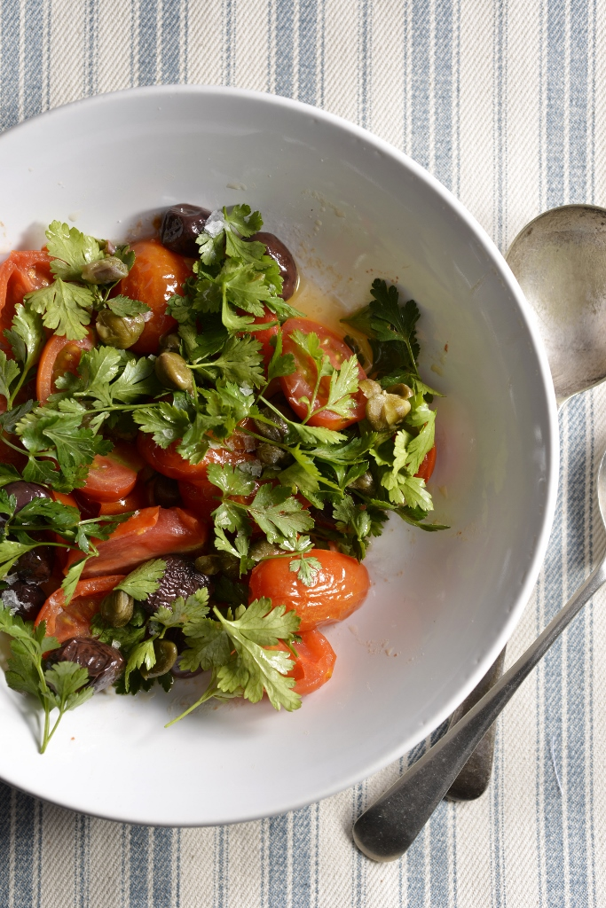 Parsley & Tomato Salad