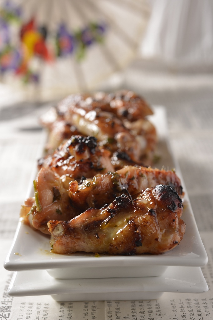 Sticky Soy Sauce Chicken Wings