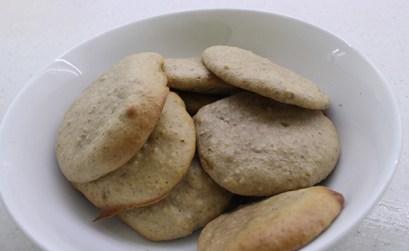 banana and pecan Cookies