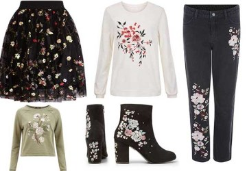 New Look Floral Embroidery Trend