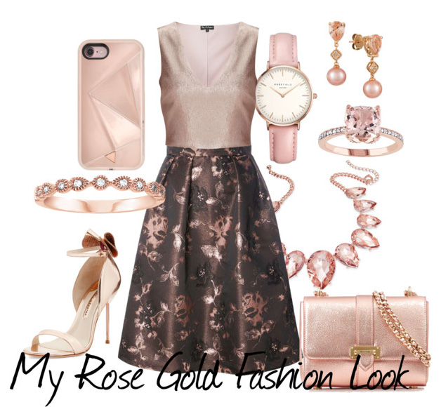 my rose gold fashion look