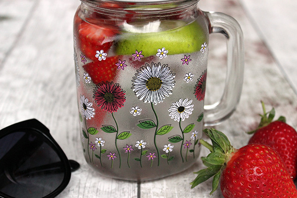 strawberry and lime spring water