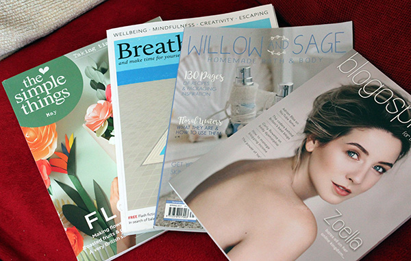 magazines I read