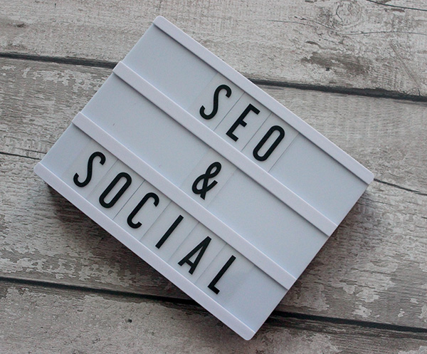 SEO on social media