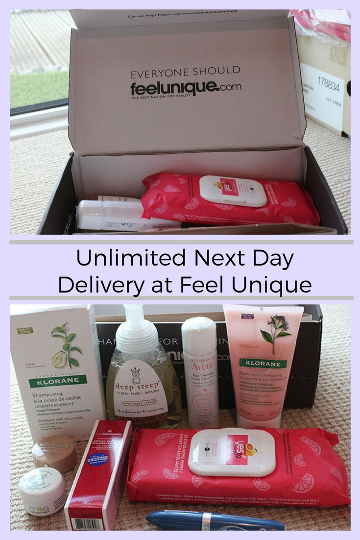 unlimited next day delivery at Feel unique