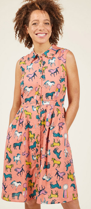 the cutest dresses on Modcloth.