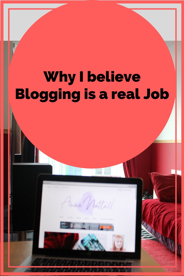 why I believe blogging is a real job
