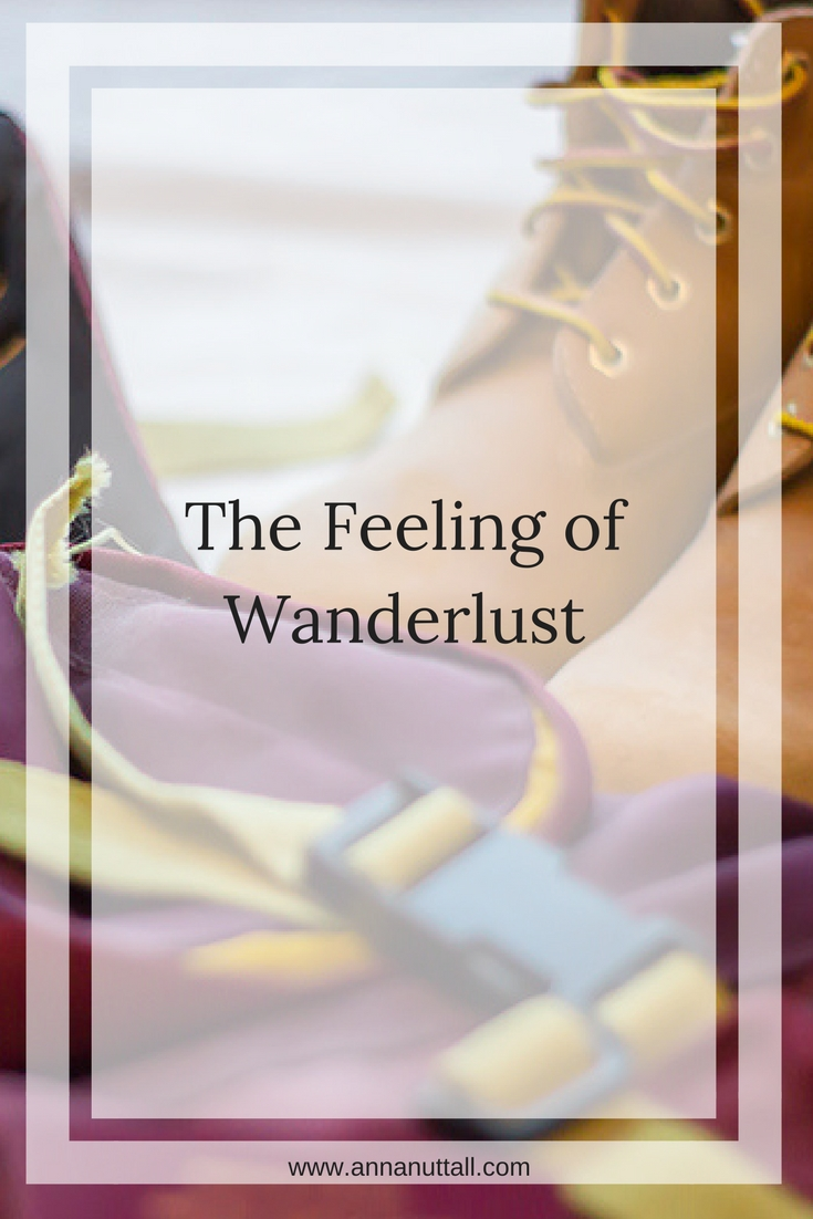 the feeling of wanderlust