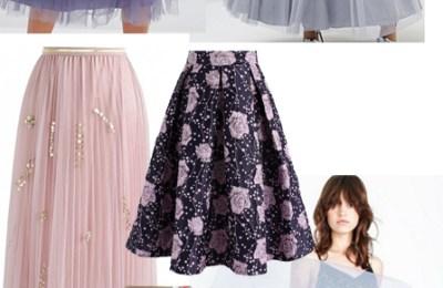 fairytale winter skirts