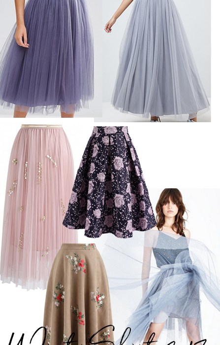fairytale winter skirts
