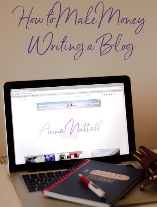 how to make money writing a blog