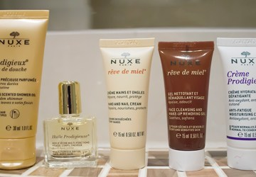 Nuxe beauty products