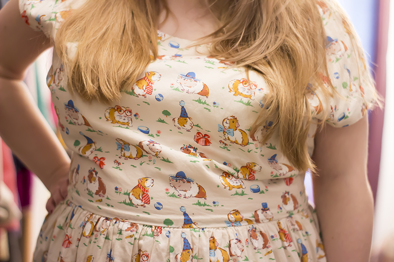 Cath Kidston guinea pigs dress