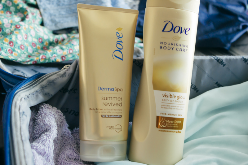 Dove Gradual Self Tan Body Lotions