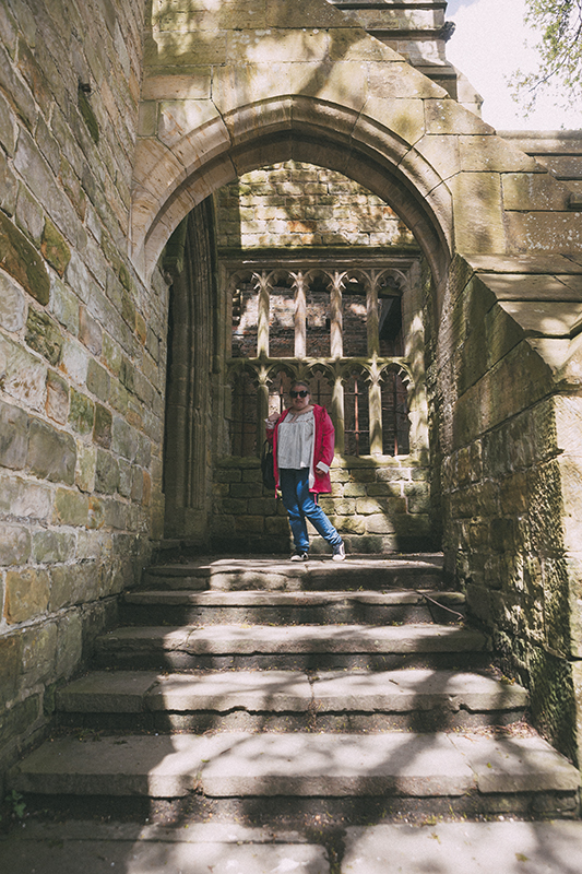 a country walk in Nymans
