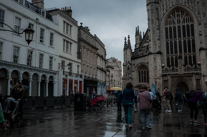 walking around Bath