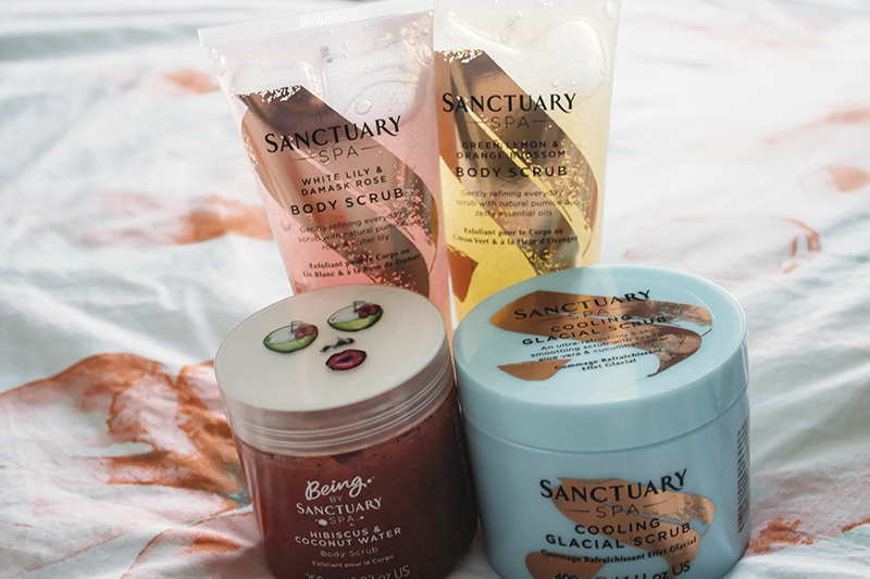 Sanctuary Spa Body Scrubs
