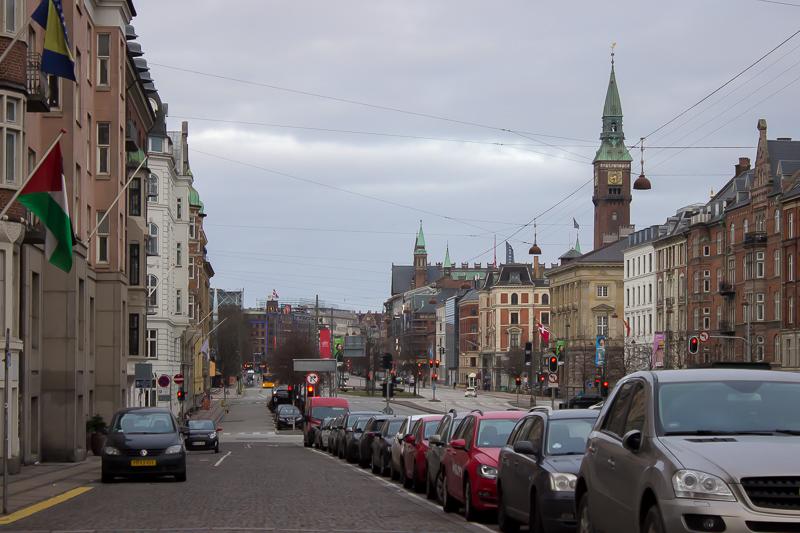 nighttime walk around Copenhagen