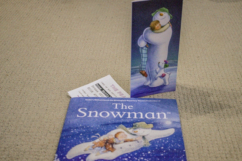 The Snowman Show at The Peacock Theatre