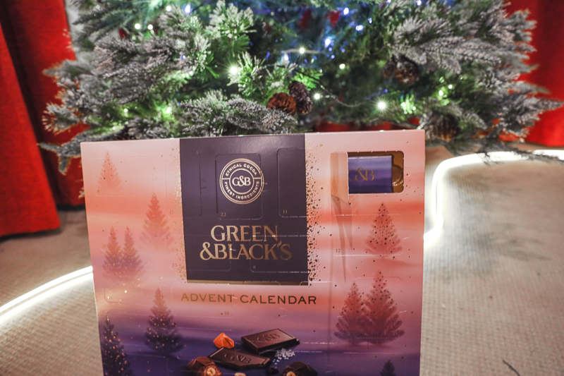 Green & Black Advent Calendar