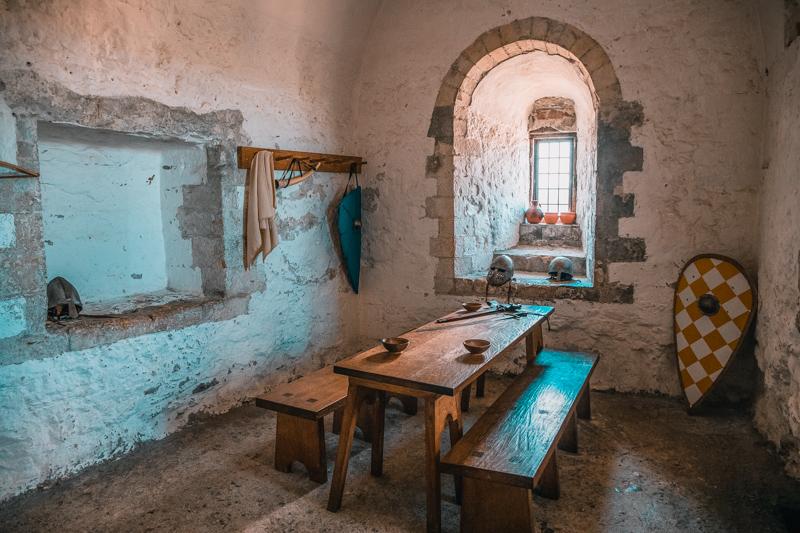 Dover Castle room