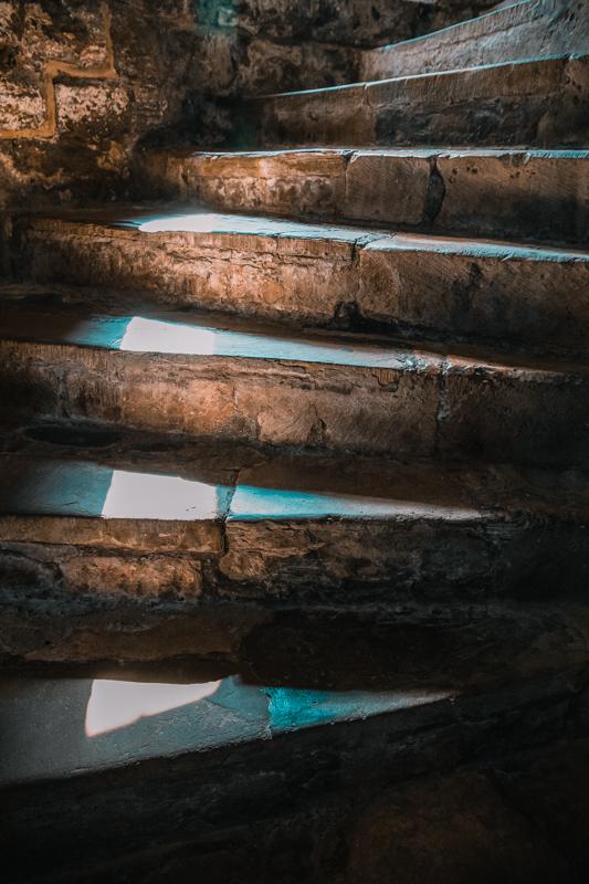 Dover Castle staircase