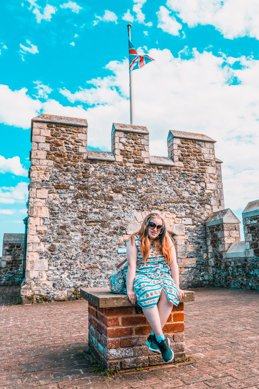 Dover Castle tower
