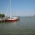 Annapolis City Dock - View toward the Chesapeake Bay
