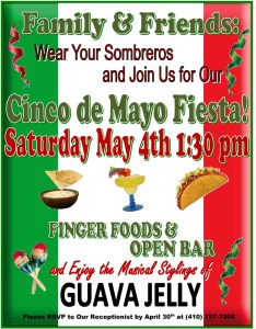 2019 cinco de mayo party flyer
