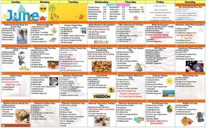 image of activity calendar