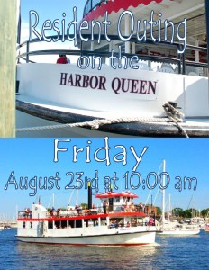 harbor queen outing flyer