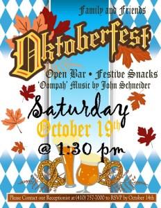 october 2019 oktoberfest party