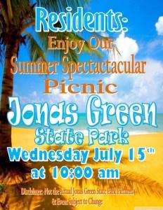 state park trip flyer
