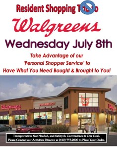 walgreens shopping trip flyer