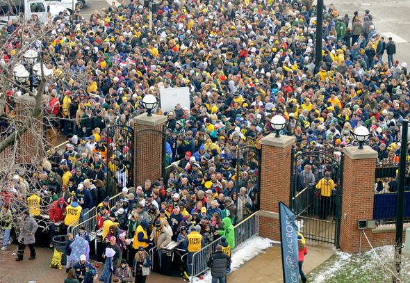Image result for crowd entering stadium