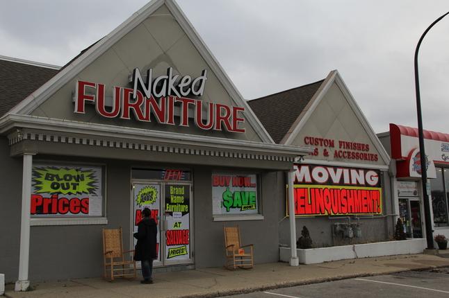 Naked Furniture Store Hardcore Videos