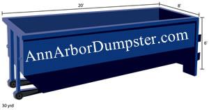 Dumpster Rental Ann Arbor, MI