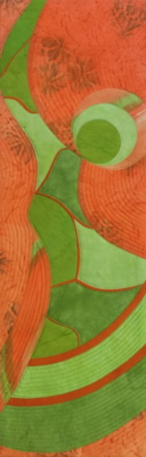 """Embracing Imperfection: Mended, Not Broken"" by Sandy Kunkle sandrakunkletextileart.com"