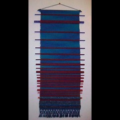 """Double Weave Wall Hanging"" by Jennifer Stafford jstafford@emich.edu"
