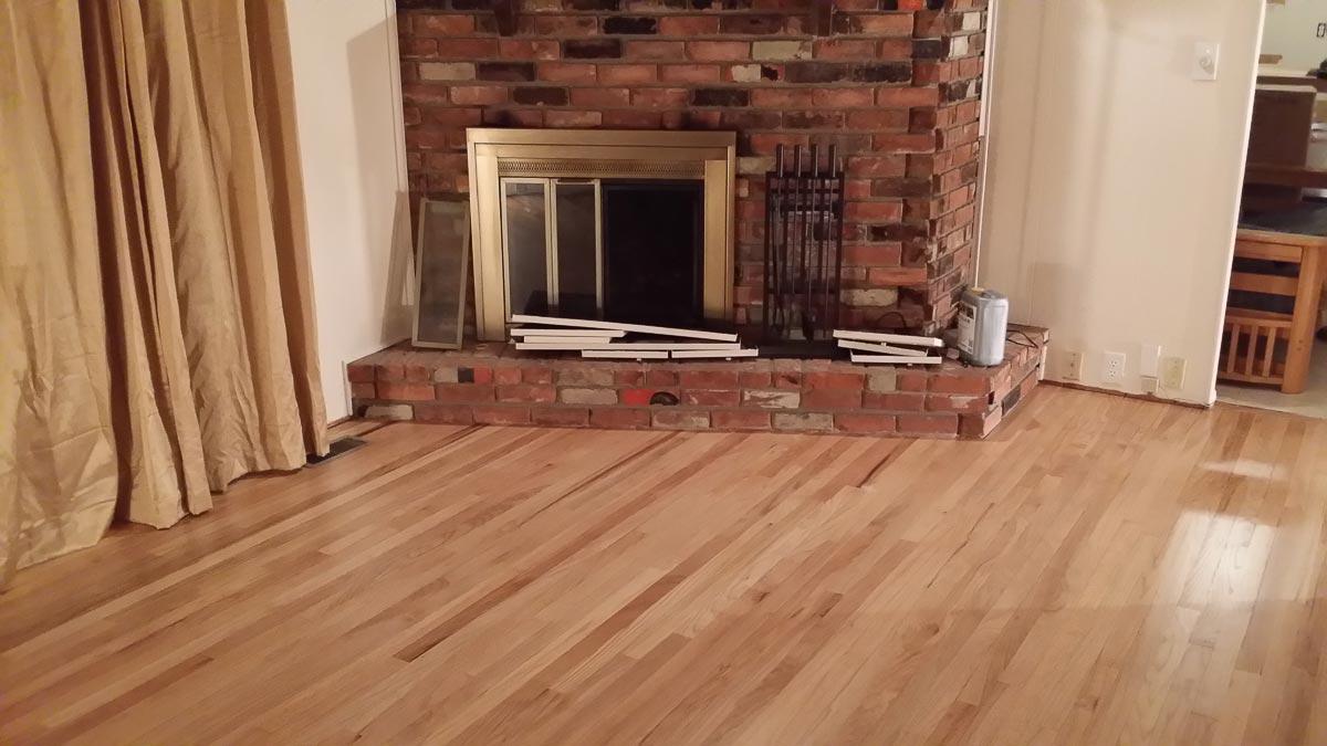Ann Arbor, Hardwood Floors, Michigan, Light Living Room Floor