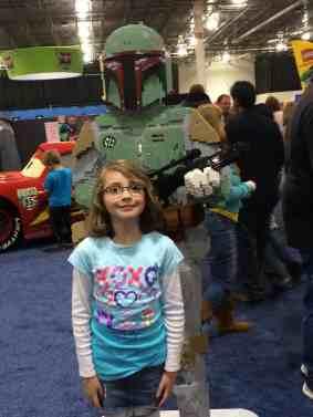Bobba Fett at LEGO Kids Fest